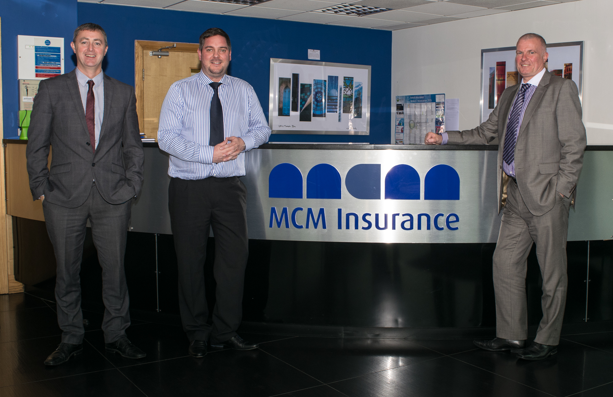 MCM Insurance Brokers front desk